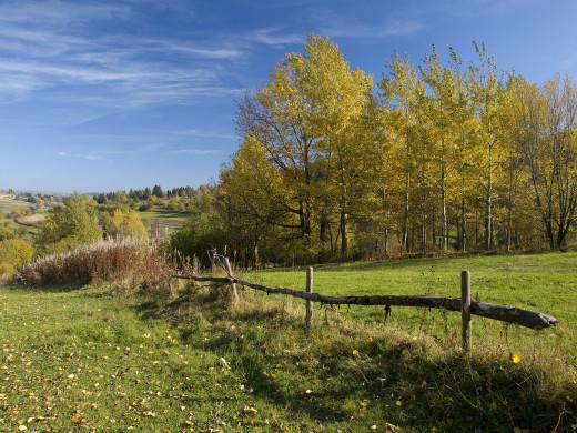 jesień  na Podhalu