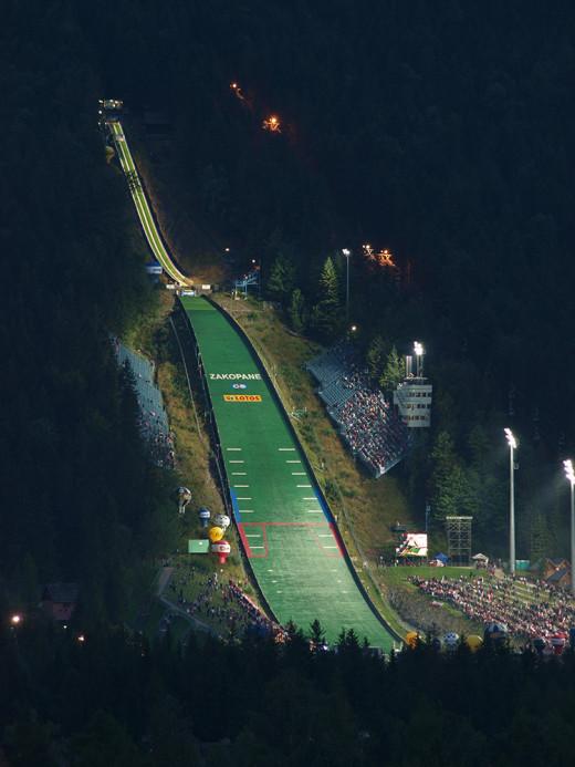 Wielka Krokiew skocznia , zawody narciarskie w Zakopanem
