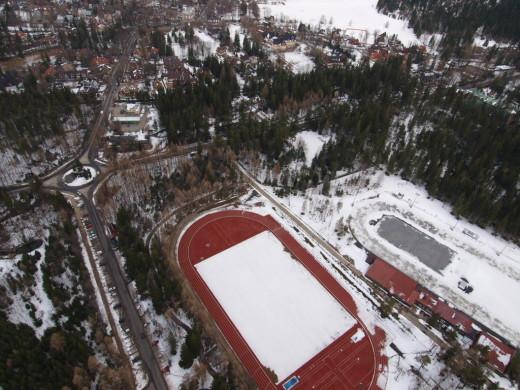 stadiony centralnego ośrodka  sportu w Zakopanem